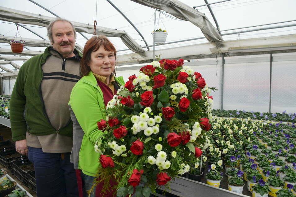 Norbert Pohl und seine Frau Margit sind froh, dass ihr Familienunternehmen im Lockdown weitermachen kann.