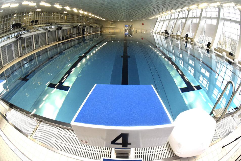 Es geht wieder los. In Sachsen dürfen ab 6. Juni alle Sportstätten öffnen, auch Schwimmhallen.