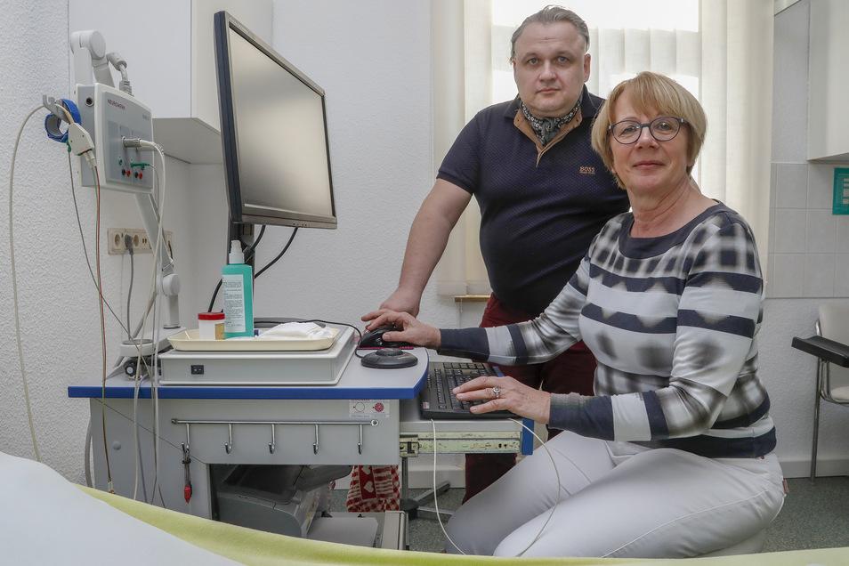 Dariusz Dalek und Heidemarie Lautenschläger arbeiten bereits seit Januar dieses Jahres zusammen. War sie bisher seine Chefin, wechseln beide ab 1. April die Rollen.