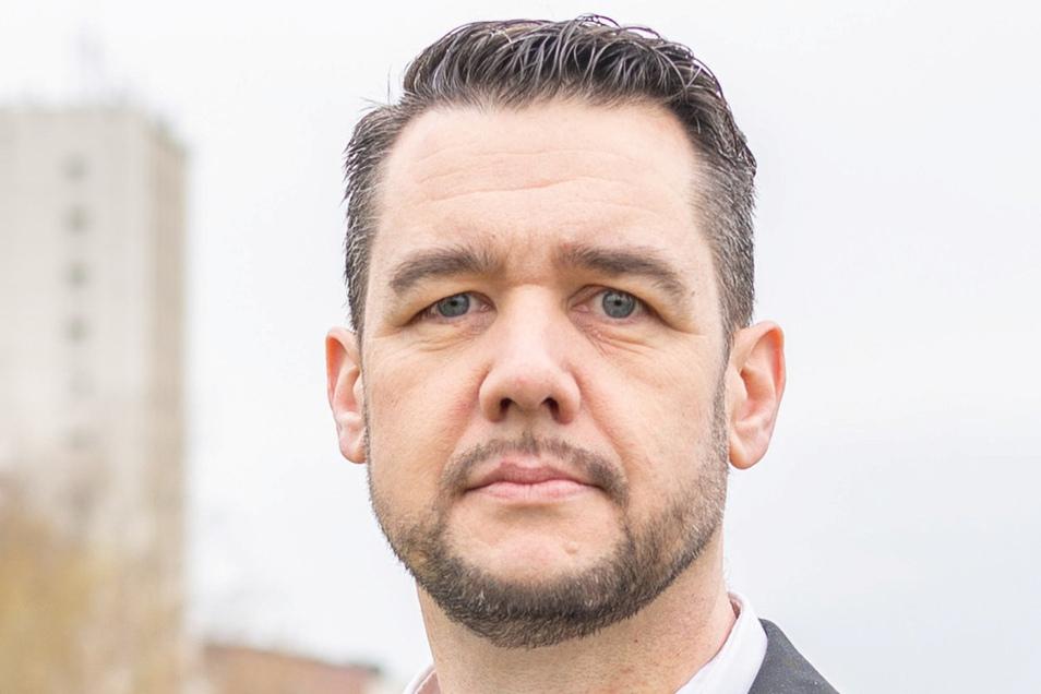 Sven Borner ist seit 2015 Vorsitzender der Riesaer FDP. Im Mai wurde er mit 529 Stimmen in den Stadtrat gewählt.
