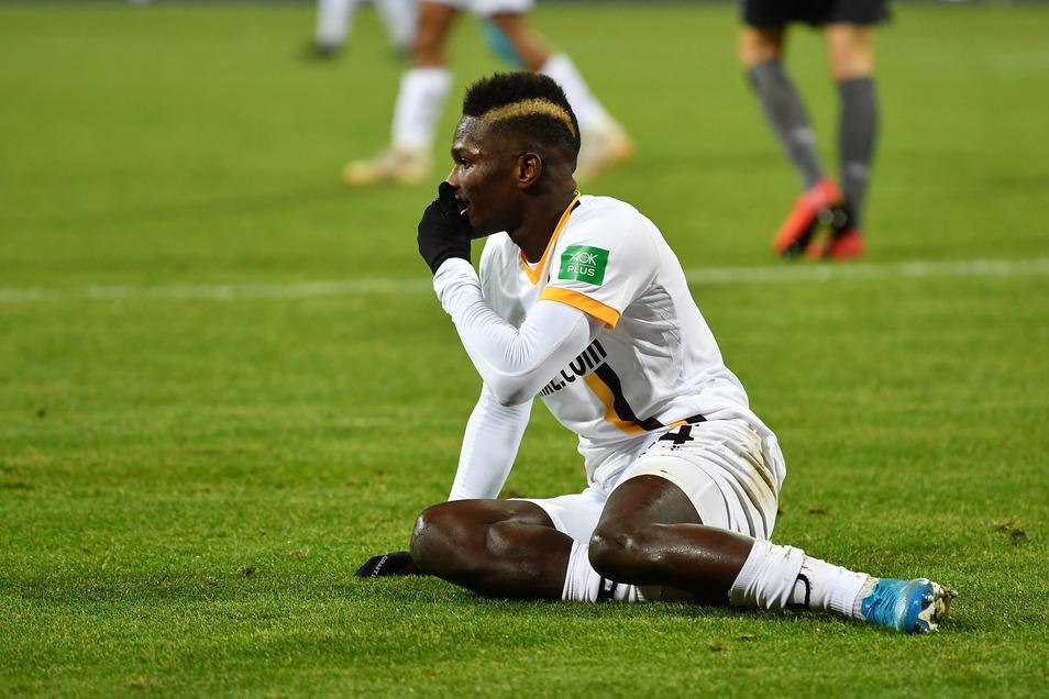 Bei Dynamo war Moussa Koné zuletzt unzufrieden und auch auf dem Platz unglücklich. Das Spiel in Nürnberg vor Weihnachten bleibt sein letztes für die Dresdner.