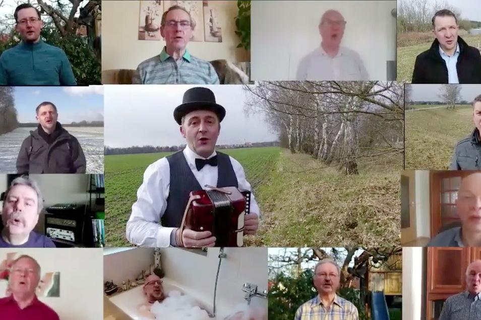 Der Rothenburger Männergesangsverein begeistert seit ein paar Tagen im Internet mit seiner speziellen Variante des Wellerman-Songs. Den hatte ein schottischer Postbote in der Coronazeit berühmt gemacht.
