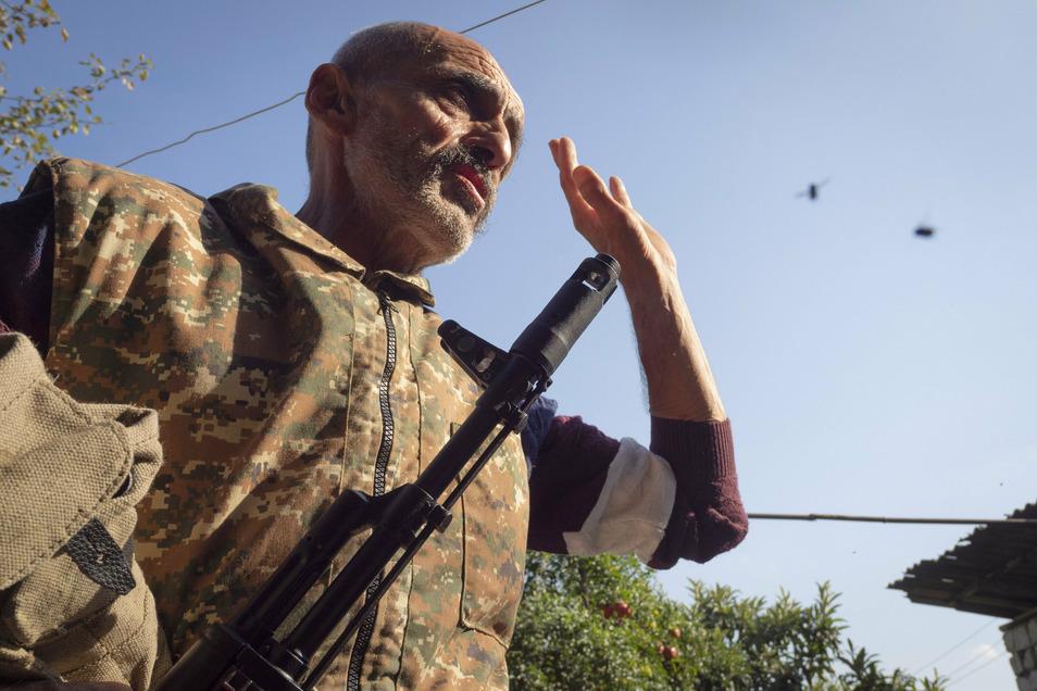 Bei Kämpfen um die Südkaukasusregion Berg-Karabach hat Aserbaidschan erneut mehrere Ortschaften eingenommen.