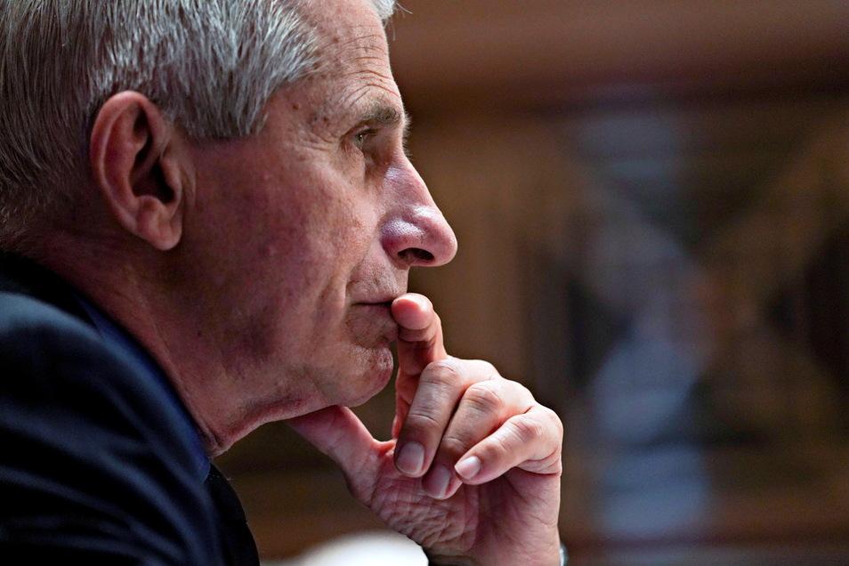 Anthony Fauci ist Gesundheitsexperte und Corona-Berater des US-Präsidenten