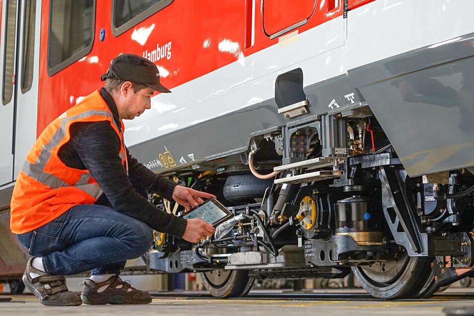 Vor einem Jahr wurde im Bombardier-Werk Bautzen ein neues Testcenter in Betrieb genommen.