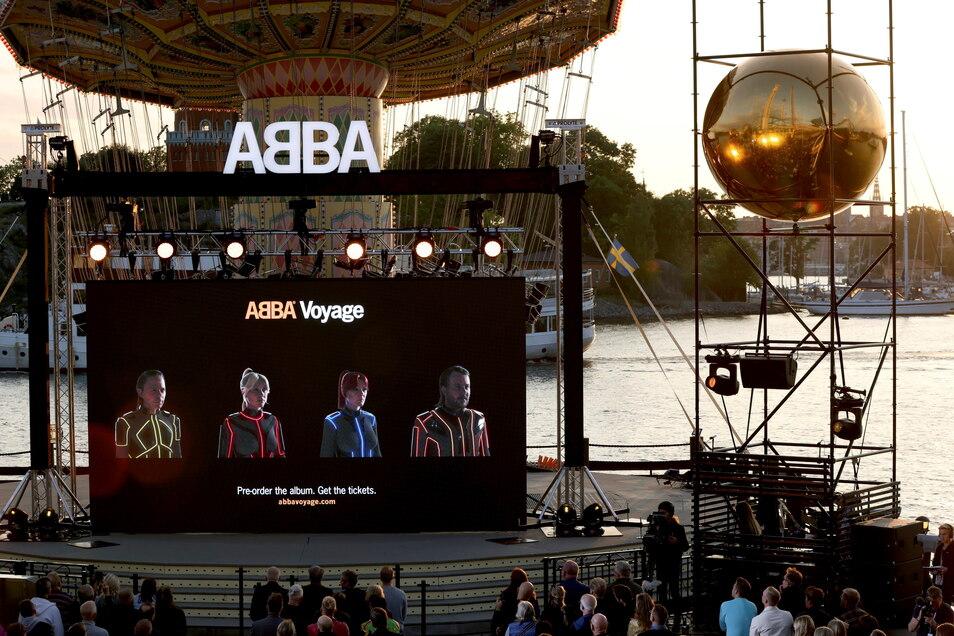 Auch wenn die Konzertarena noch im Bau ist, hat am Dienstag bereits der Ticketverkauf für die neue Abba-Show Voyage in London begonnen.