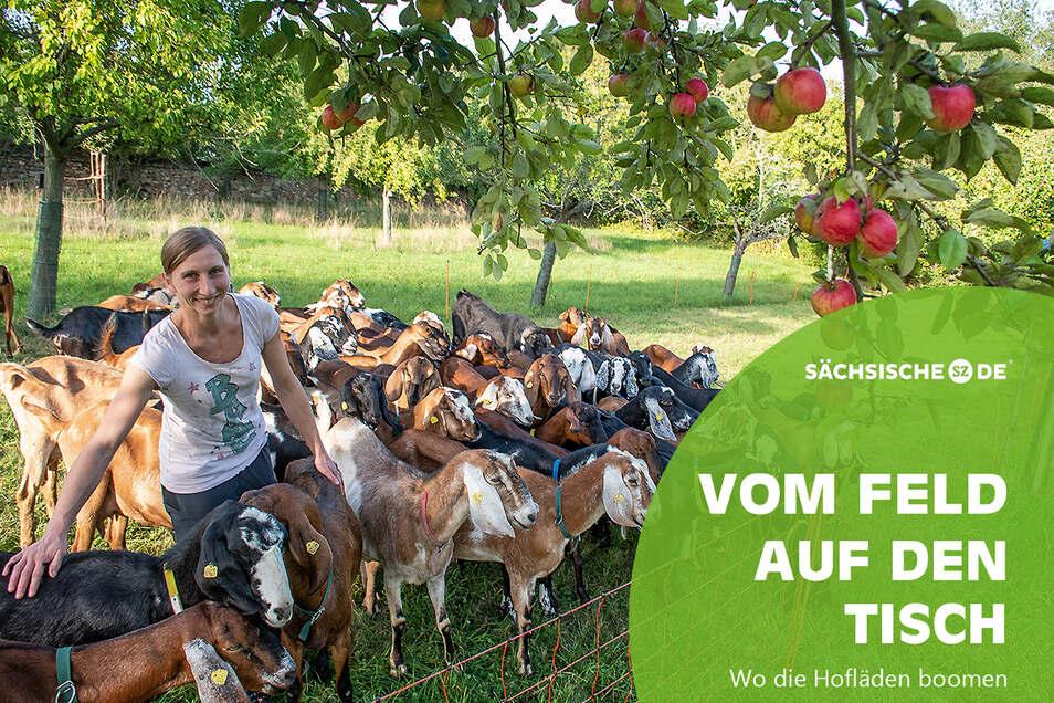 Katja Loßner ist die Lebensgefährtin von Sven Kloy. Sie betreiben beide den Bio-Ziegehof in Lichteneichen bei Sornzig.