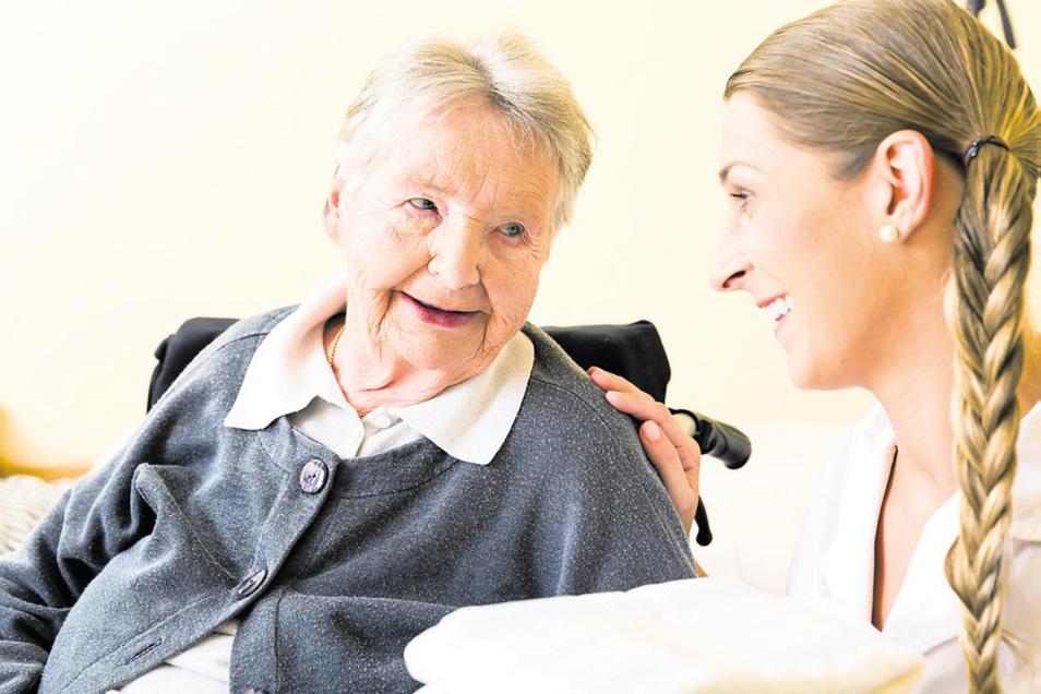 Im Jahr 2050 wird es in Sachsen rund 70 Prozent mehr Pflegefälle geben als noch im Jahr 2009.