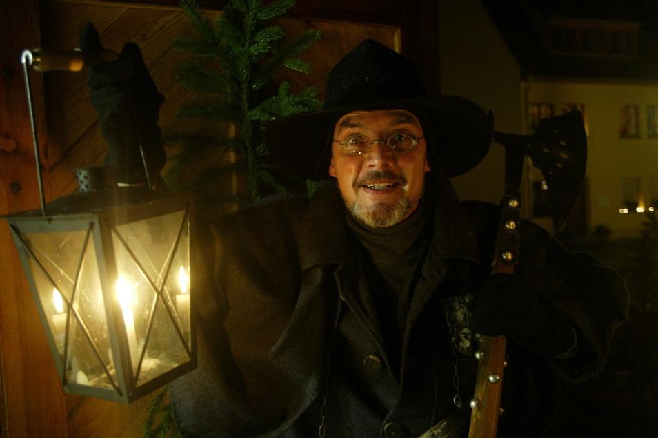 Wolfgang Bieberstein aus Pirna ist besser bekannt als der Pirn'sche Nachtwächter.