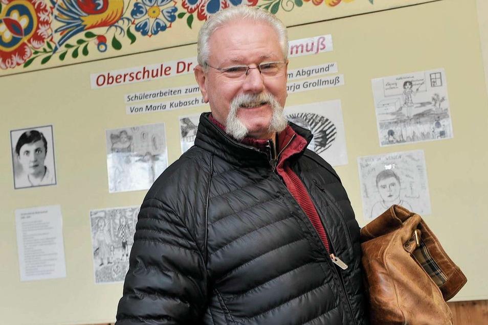 Der Umzug in das neue Schulzentrum in Schleife bedeutet für Wolfgang Goldstein auch privat eine Zäsur – er geht in den Ruhestand.