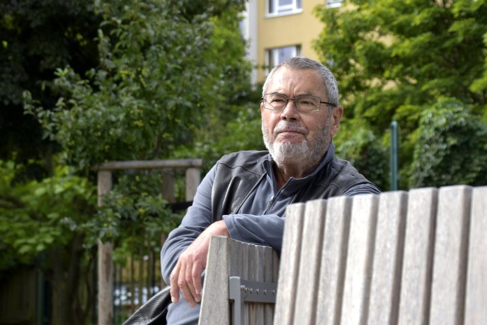 Jörg Bösche war einer der Chefplaner, die Gorbitz Anfang der 1980er-Jahre mit gestaltet haben.