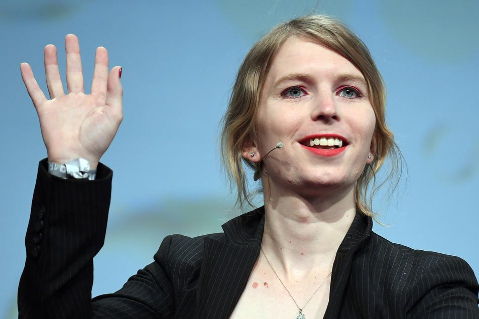 Die US-amerikanische Whistleblowerin Chelsea Manning