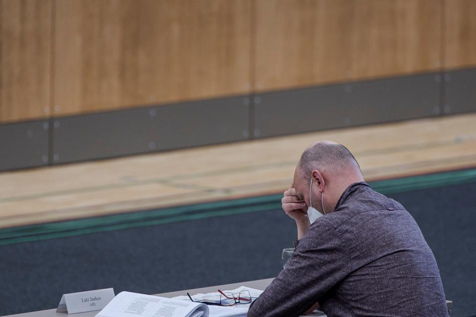 Gescheitert mit seiner Strategie im Stadtrat: AfD-Fraktionsvorsitzender Lutz Jankus.