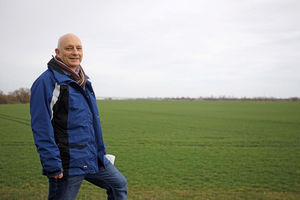 Heinz Gräfe ist Geschäftsführer der Landestalsperrenverwaltung Sachsen.