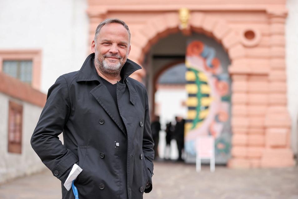 Dirk Neubauer ist Bürgermeister der Stadt Augustusburg.
