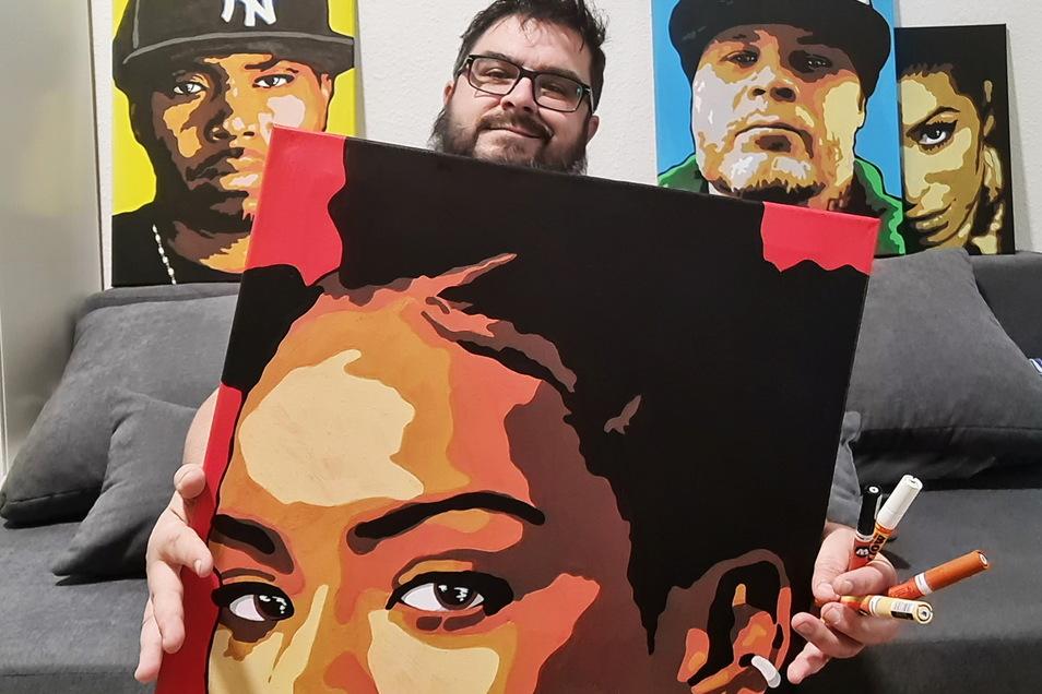 Erkennen Sie die porträtierten Berühmtheiten?