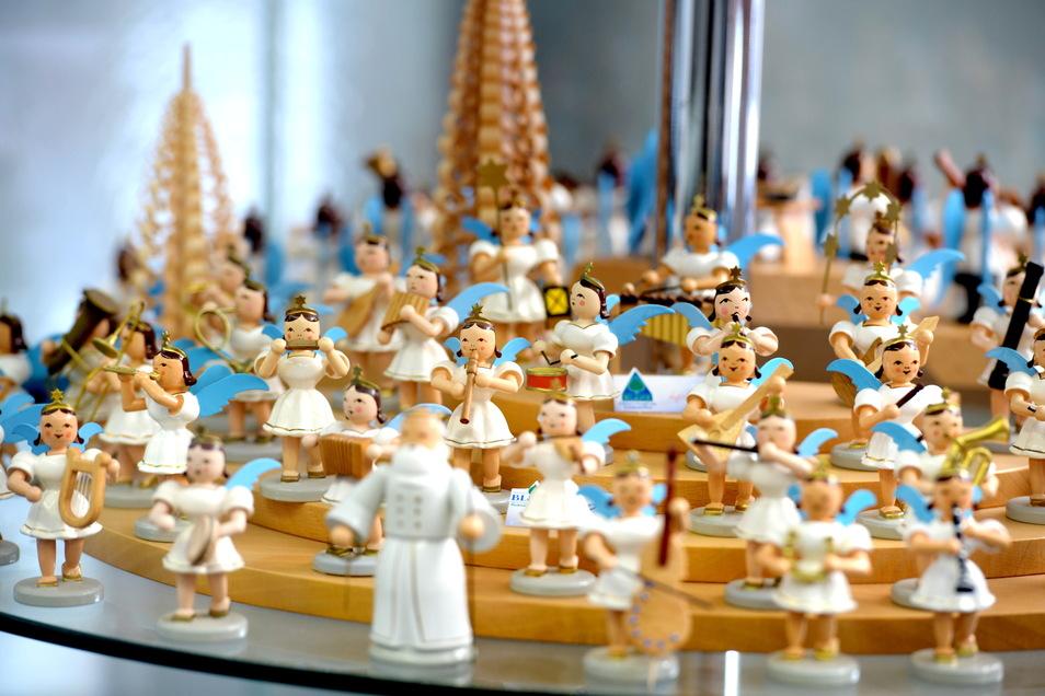 Die Weihnachtsfiguren sind das ganze Jahr über erhältlich.