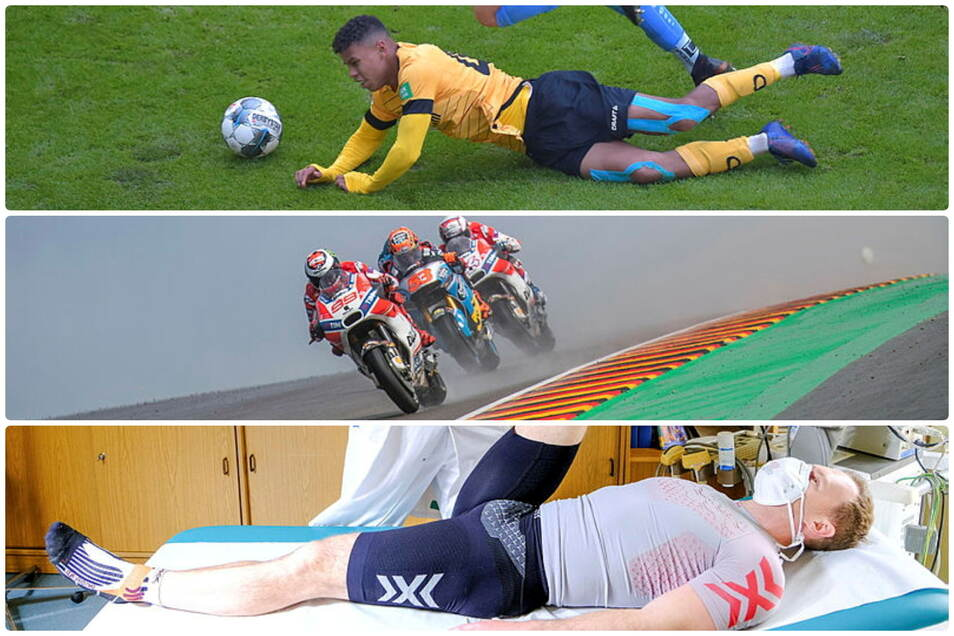 Dynamo muss mindestens drei Spiele auf Ransford Königsdörffer verzichten, die Motorrad-WM soll auf jeden Fall auf dem Sachsenring starten und Francesco Friedrich im Fitnesscheck - das ist der Sportmittwoch.