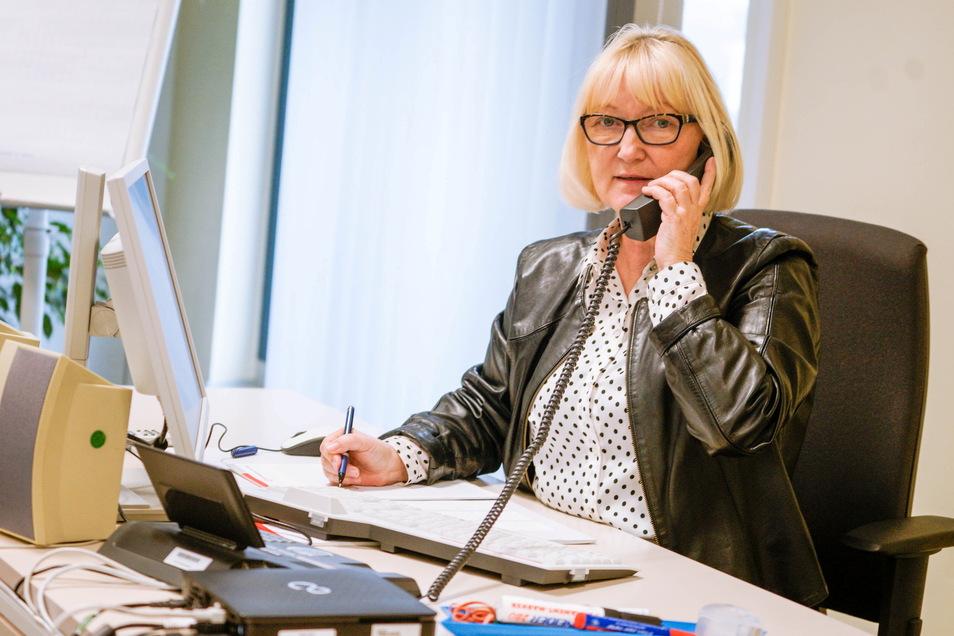 Ilona Winge-Paul, Vize-Chefin der Arbeitsagentur Bautzen, sieht für junge Leute die Chance auf eine Lehrstelle so gut wie nie zuvor.