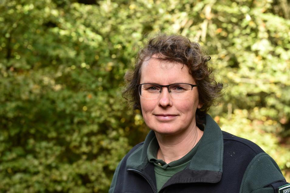 """""""Temporäre Einschränkungen sind unvermeidlich."""" Die Käferkrise hat die Waldwege außergewöhnlich stark beansprucht, sagt Kristina Funke vom Forstbezirk Bärenfels."""