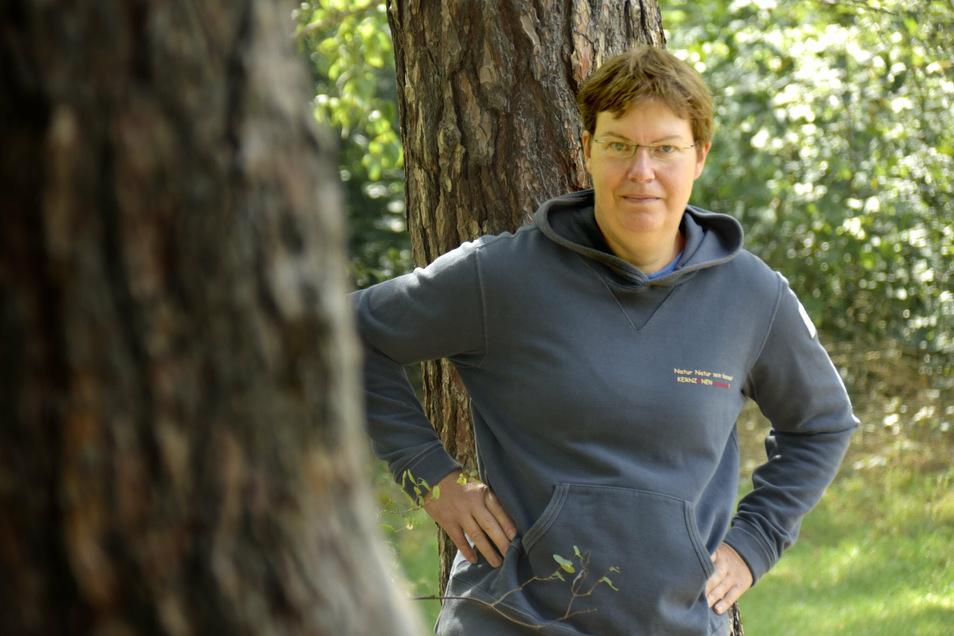 """""""Bäume oft kaum noch zu retten"""": Kerstin Richter hat ihr Leben dem Umweltschutz gewidmet."""