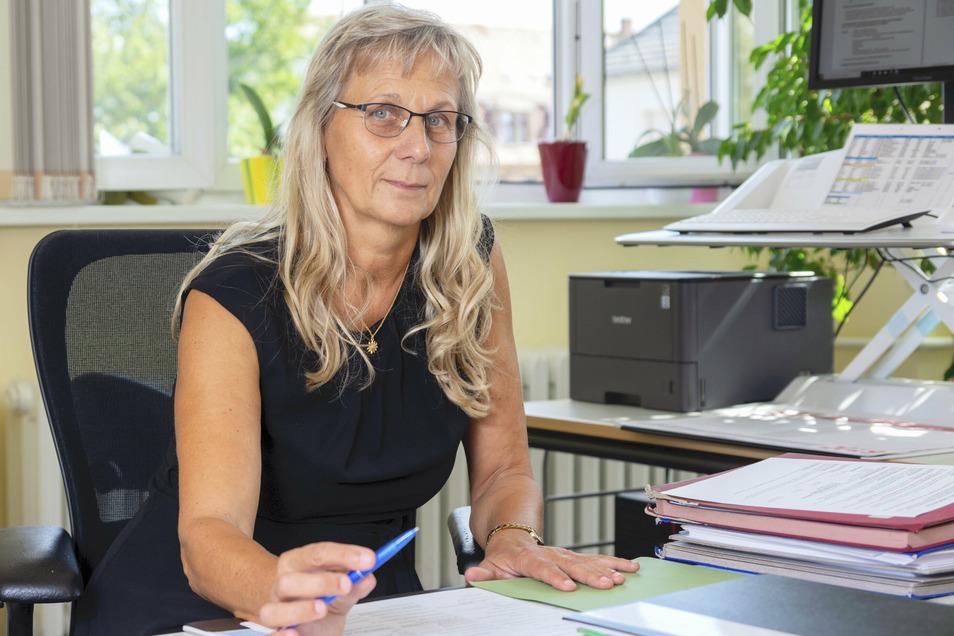 Silke Zscheile leitet das Städtische Gymnasium in Riesa. Sie ist optimistisch gestimmt, was den Neustart an der Schule nach den Ferien angeht.