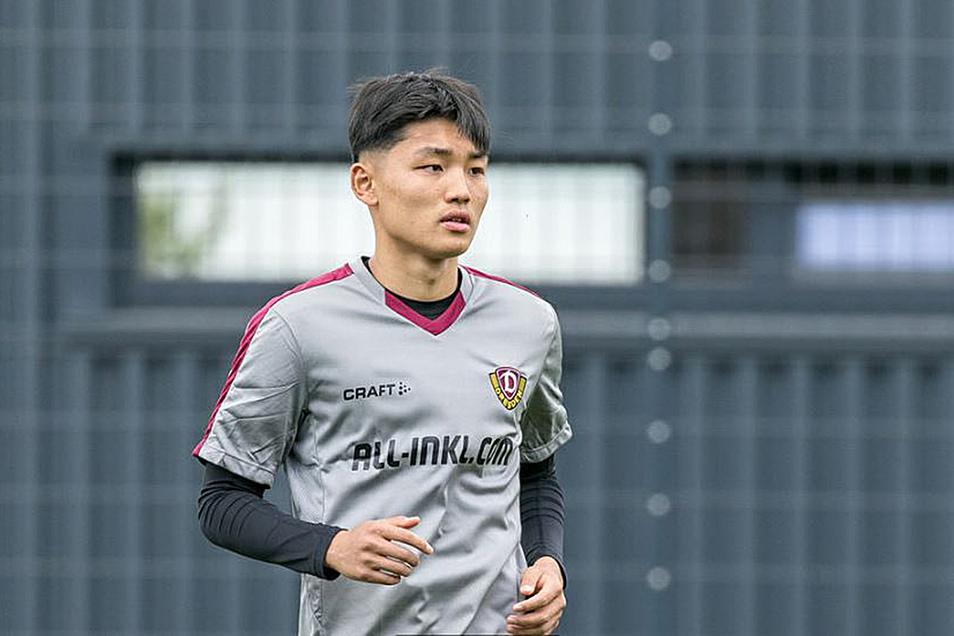 Jongmin Seo konnte nur zwei Tage in Dresden zur Probe vorspielen. Reicht das für einen Vertrag?