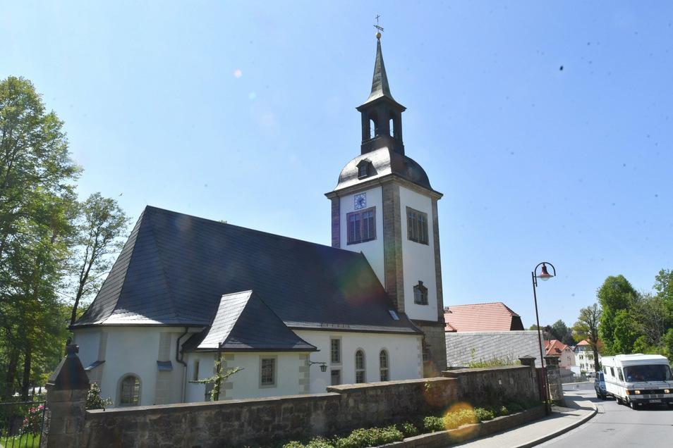 Die Kirche in Dittersbach soll auch weiter geöffnet bleiben.