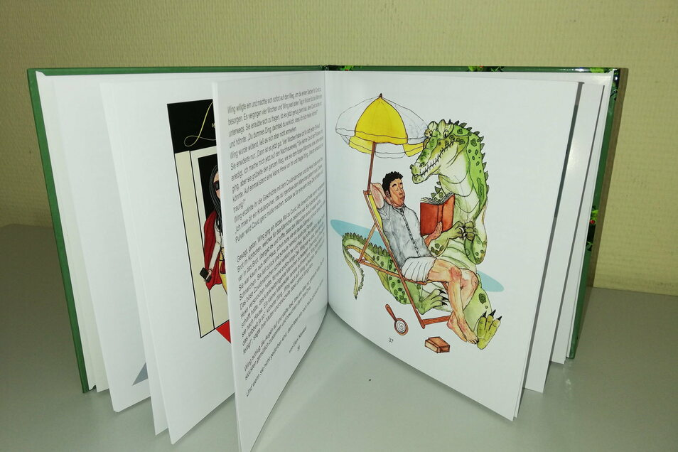 Fünftklässler vom Augustum-Annen-Gymnasium Görlitz schrieben während des Lockdowns ein modernes Märchenbuch, das sich um Corona dreht.