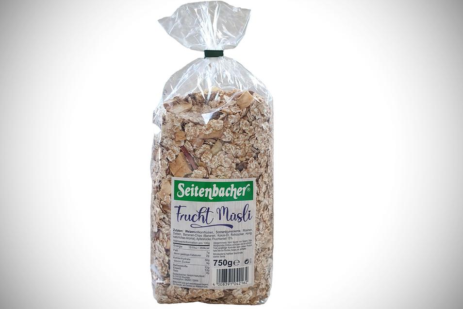 1. Platz: Frucht Müsli, Seitenbacher, 11.659 Stimmen (54,5 Prozent)