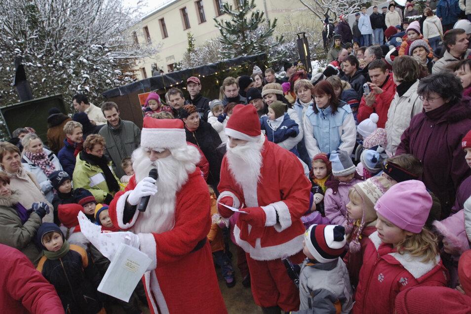 Lampertswalder Weihnachtsmarkt - in diesem Jahr findet er leider nicht statt.