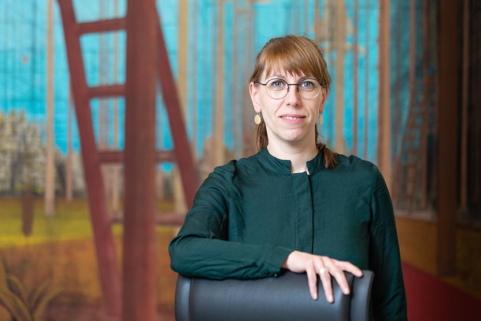 Sie ist die erste Nichtjuristin, die erste Frau und die erste Grüne im Amt der Justizministerin: Katja Meier.