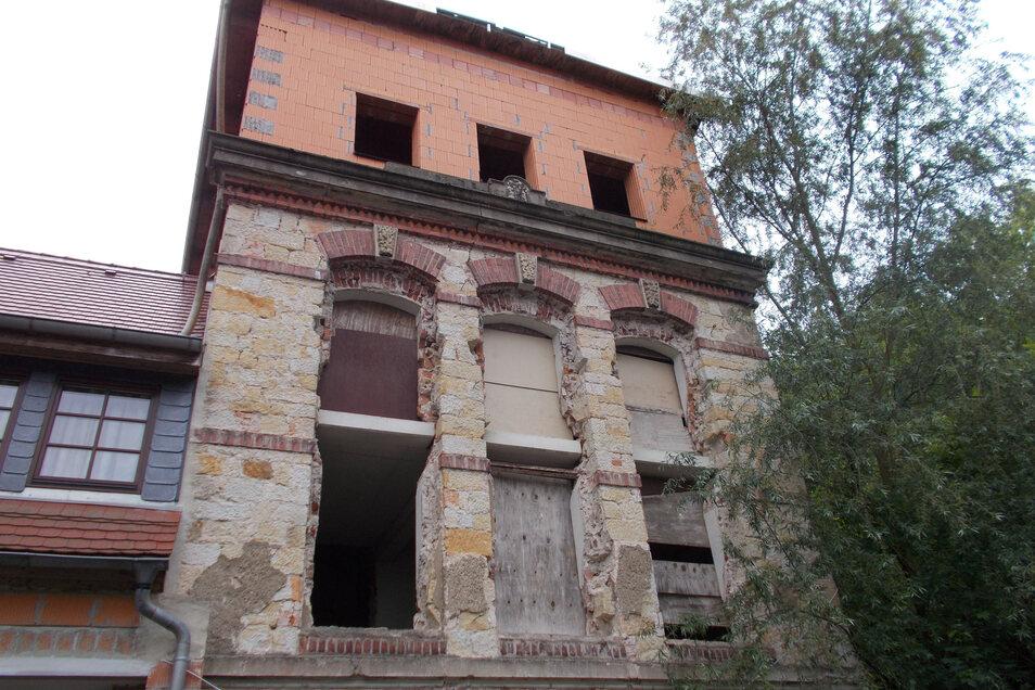 Der noch zu sanierende Teil der alten Kohlmühle in Pirna wurde jetzt verkauft.