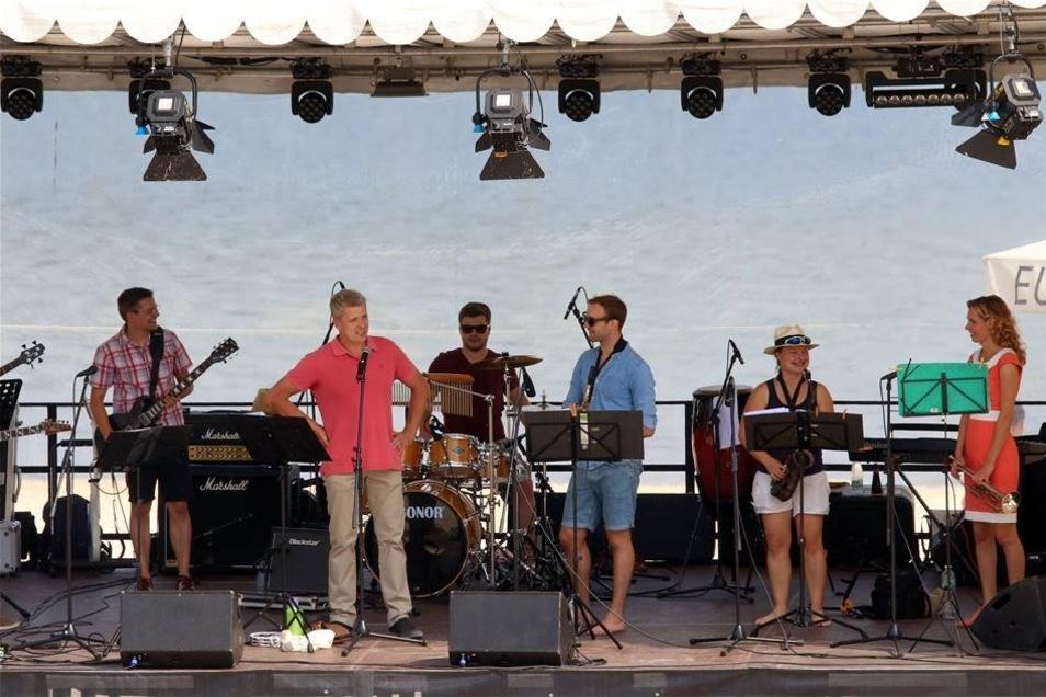 Eröffnet wurde das Lagunenfest 2018 am Feritagabend durch den stellvertretenden Bürgermeister Bernd Richter.