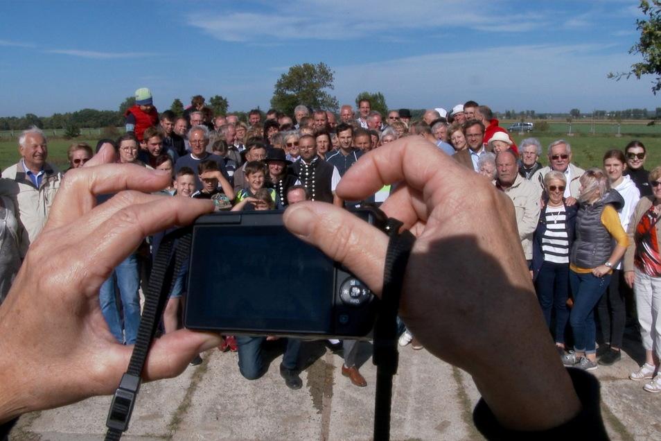 Gruppenfoto bei der Einweihung 2020.