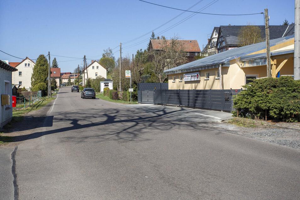 An der Ortsdurchfahrt Hirschbach wird dieses Jahr nicht mehr gebaut.