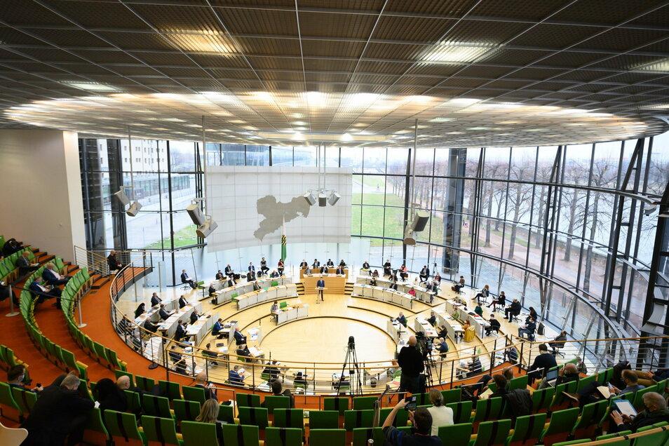 Die Grundsteuer-Reform ist am Donnerstag kein Thema im Sächsischen Landtag.