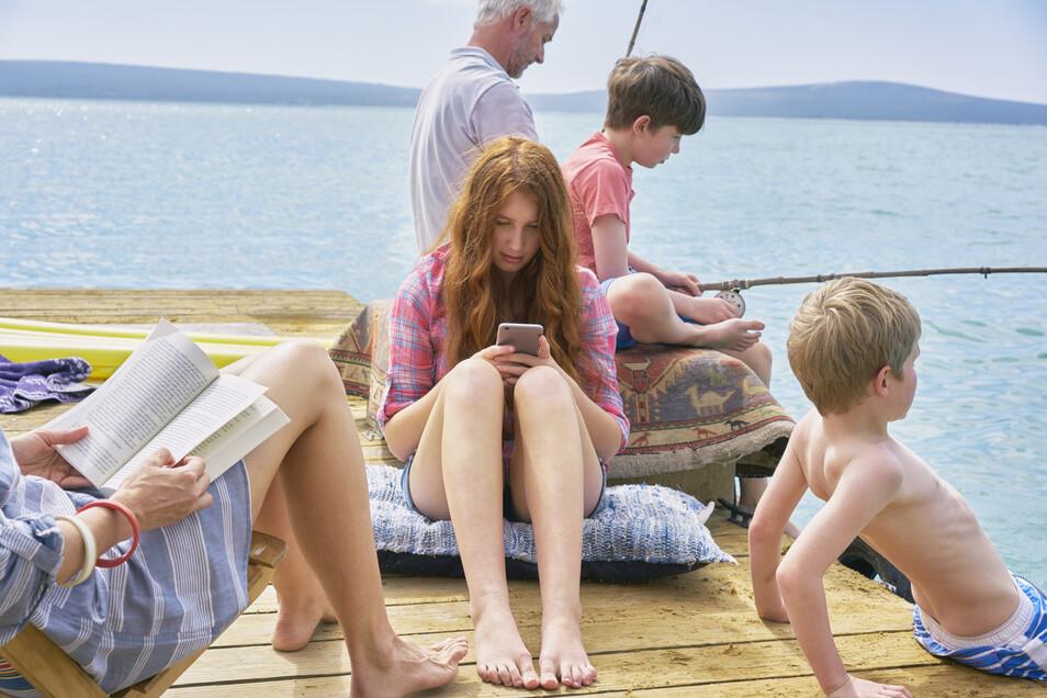 Jugendliche brauchen Rückzugsorte im familiären Trubel.