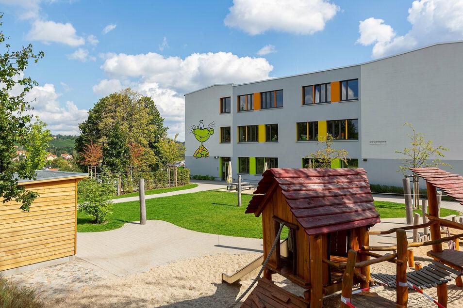 """Kita, Grundschule und Hort """"Am Albertschacht"""" in Freital-Wurgwitz sind bei Eltern wie Kindern beliebt."""
