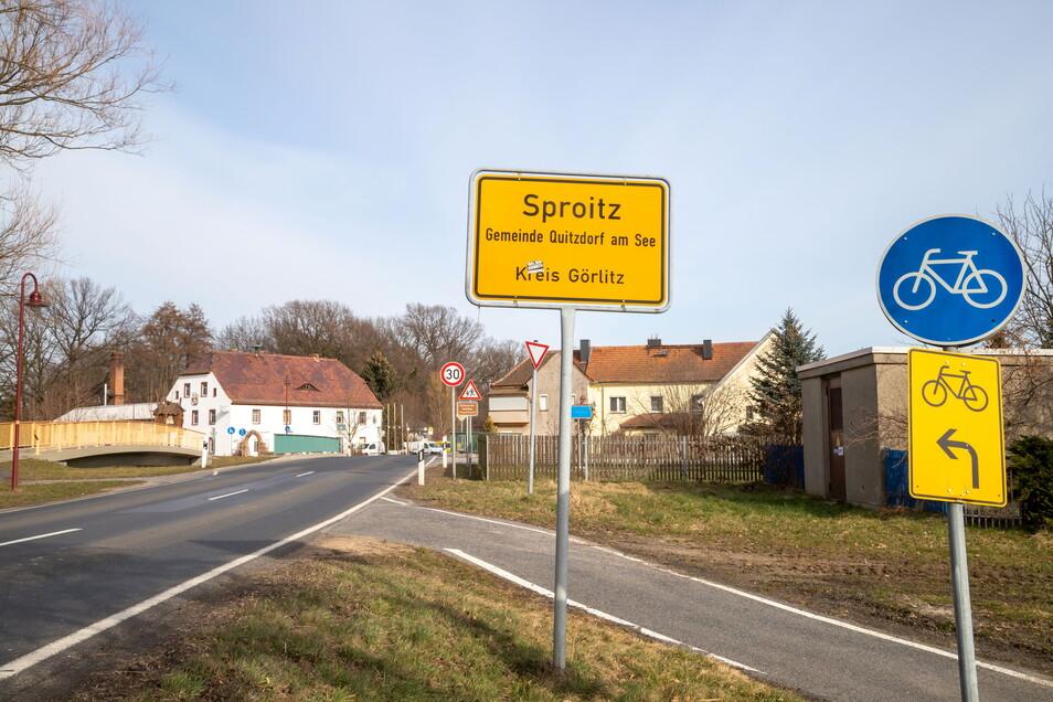 Sproitz ist einer der fünf Orte in der Gemeinde Quitzdorf am See und auf der neuen Internetseite der Kommune zu finden.