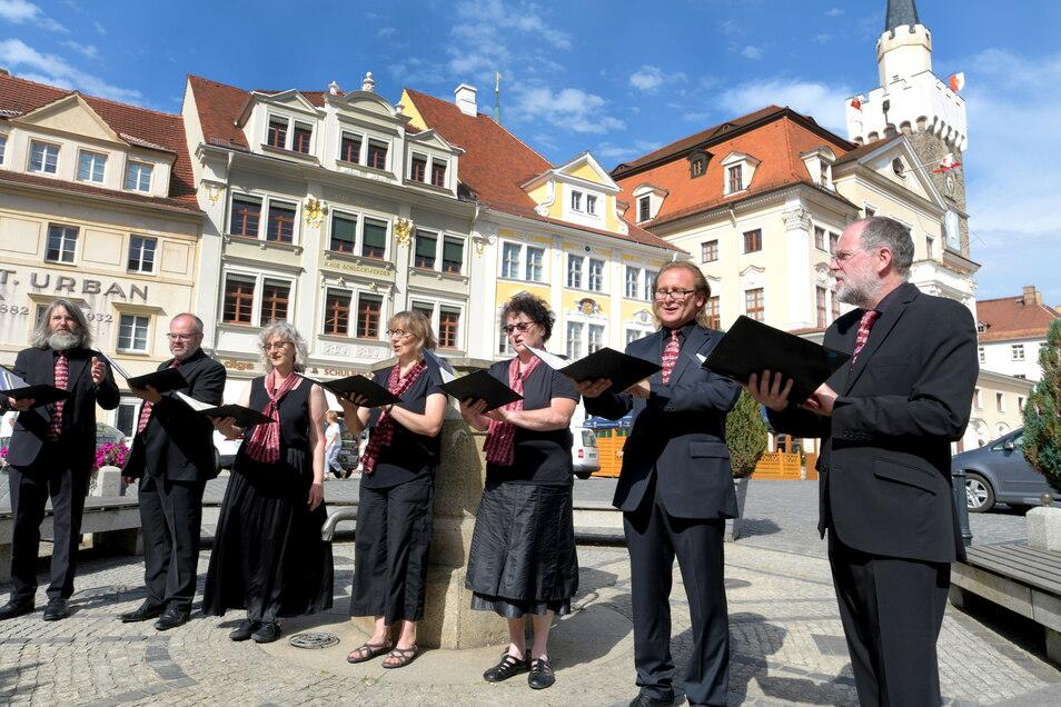 Der längste Tag des Jahres wurde auch in Löbau wieder mit Live-Musik gefeiert.
