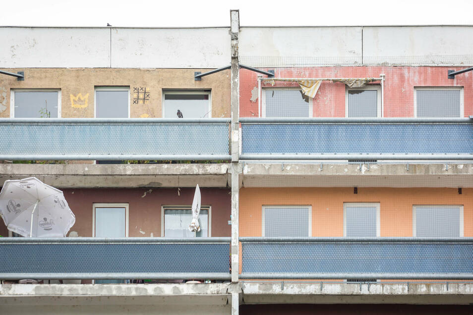Die Mieter konnten auch erklären, was sie sich für ihre Balkone wünschen.