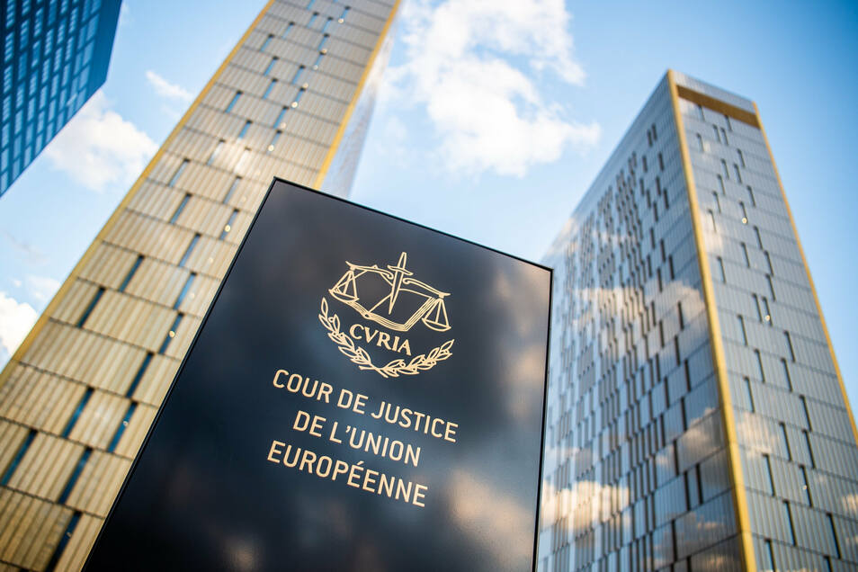 Der Europäische Gerichtshofs in Luxemburg.