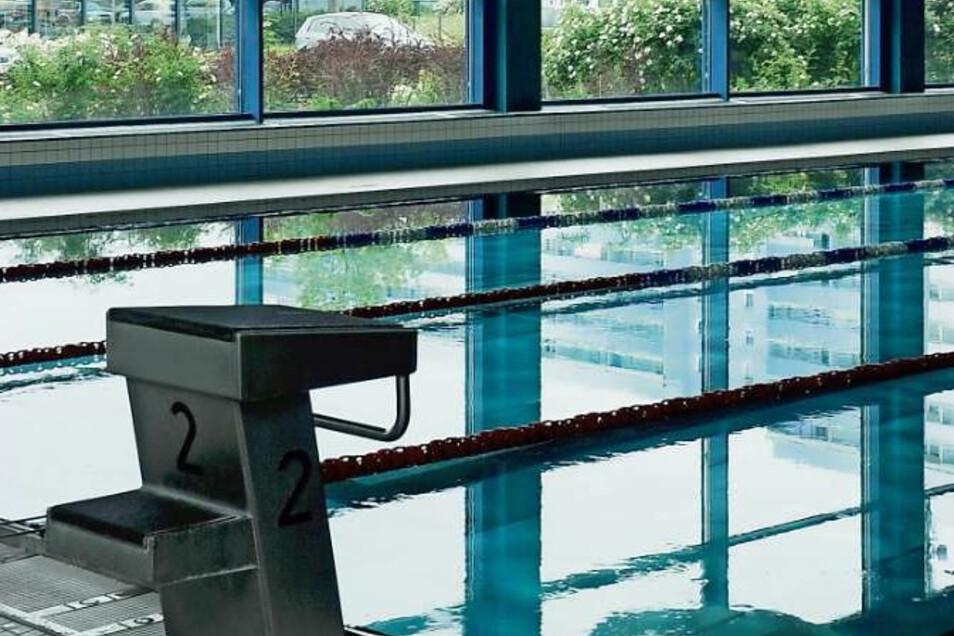 Wegen Corona ist die Schwimmhalle in Weißwasser ab sofort gesperrt.