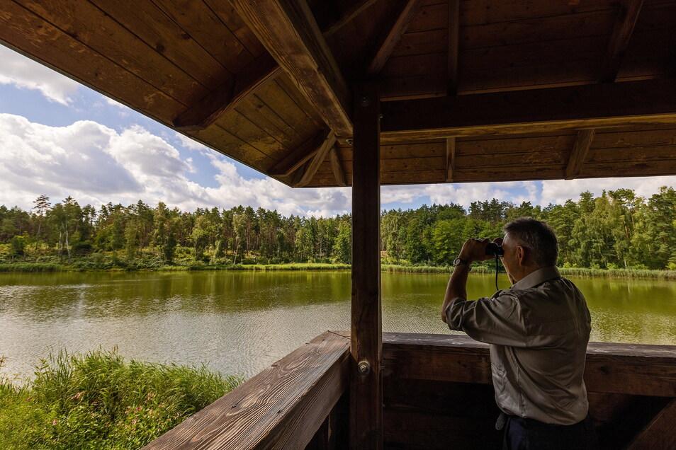Andreas Kirste hat die Entwicklung der Königsbrücker Heide in den vergangenen 20 Jahren begleitet.