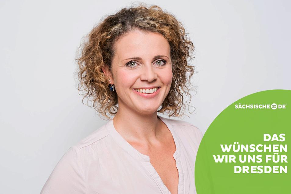 Die Dresdner Pflegeexpertin Friederike Kühn arbeitet beim Arbeiter-Samariter-Bund (ASB).