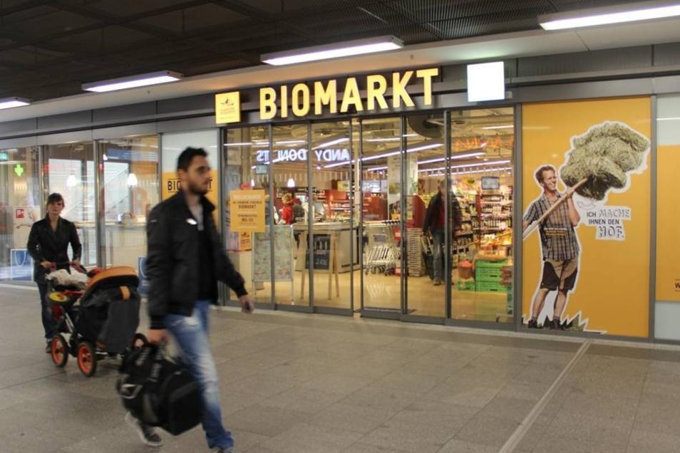 ... der Biomarkt Podemus ...
