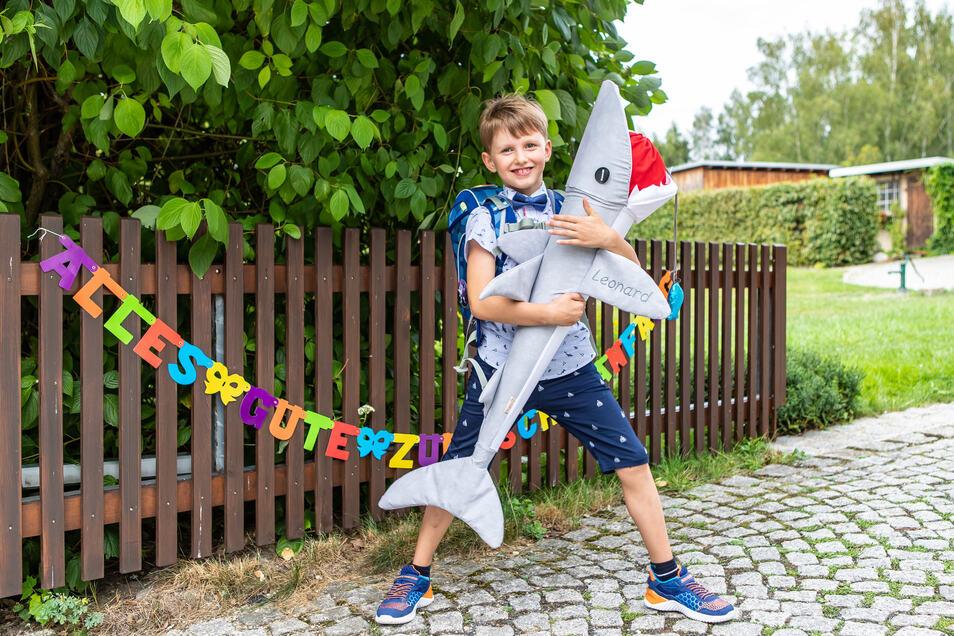 Leo – wie die Familie den Kleinen liebevoll nennt - sieht man sein Handicap nicht an. Ein fröhlicher, kleiner Junge, der Sport mag, Bücher und Lego.