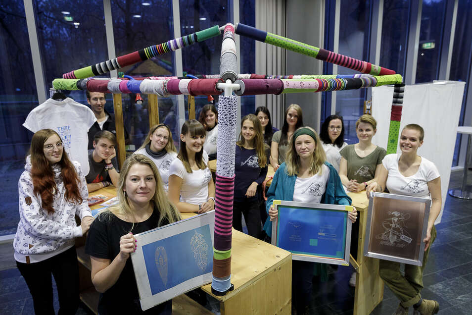 Eine Uni in Görlitz könnte auch für Studenten interessant sein. Auf unserem Foto sind Studenten der Hochschule Zittau/Görlitz.