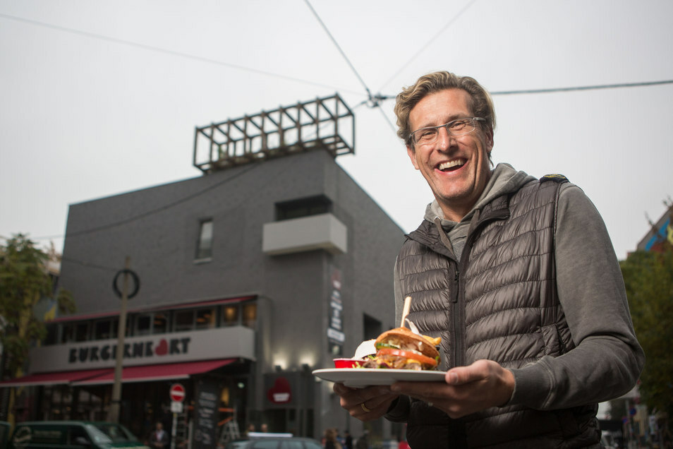 Burgerheart-Chef Christian von Canal.